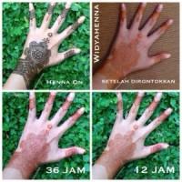 henna paste fade away
